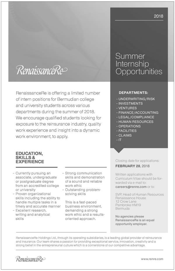 Summer Intern Opportunities