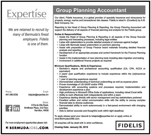 Group Planning Accountant