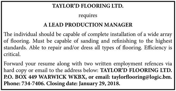 Lead Production Manager