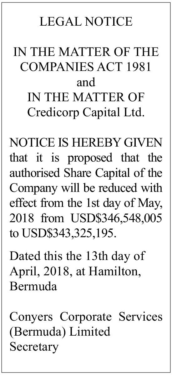 Credicorp Capital Ltd.