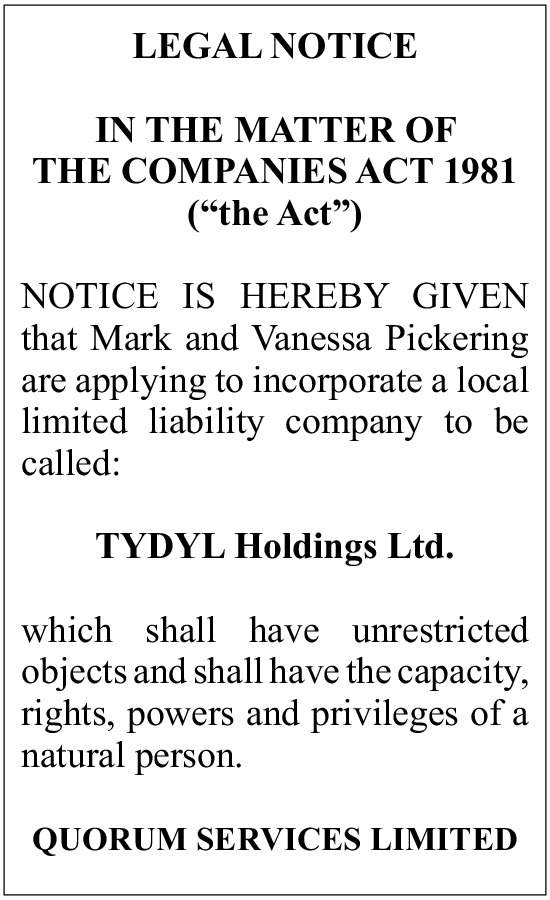 TYDYL Holdings Ltd.