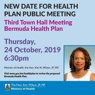 Town hall meeting on health plan
